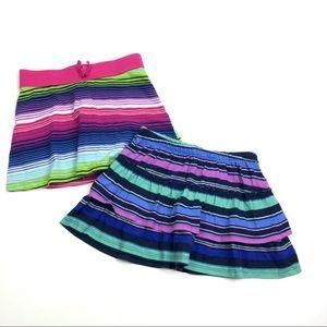 5/$25 ♥️ Girls Striped Skort Set